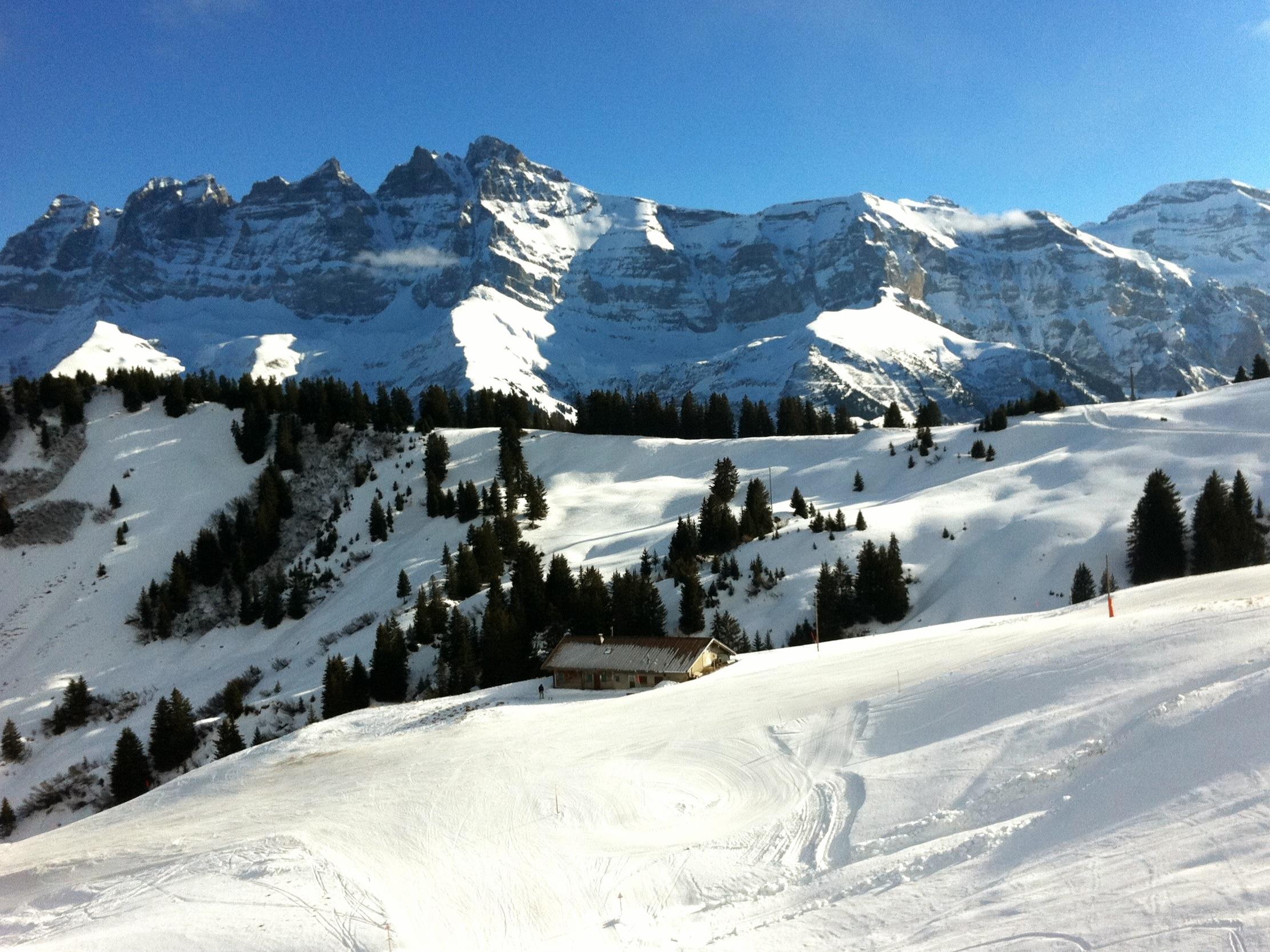 champery, switzerland - ski resort information, delas, guide review