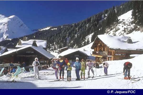 Skiing Morzine Avoriaz France France Ski resort information